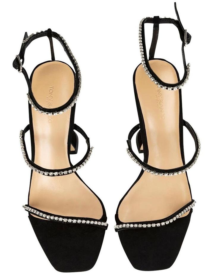 Skye Black Suede Heels image 4