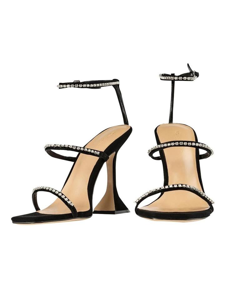 Skye Black Suede Heels image 6