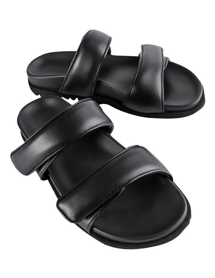 Bonny Black Nappa Sandal image 2
