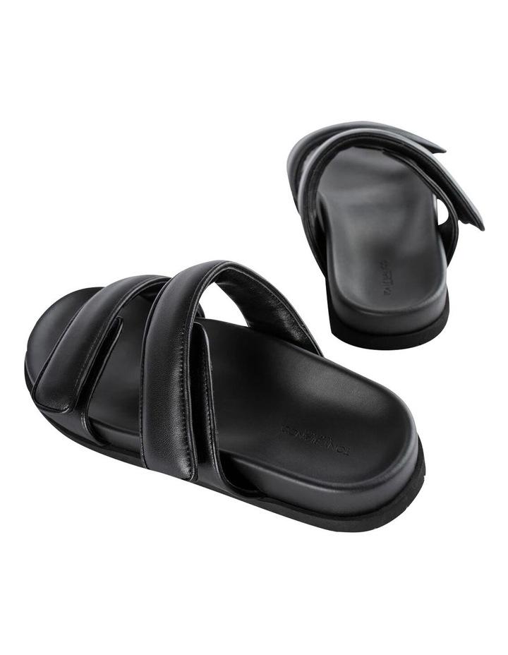 Bonny Black Nappa Sandal image 4