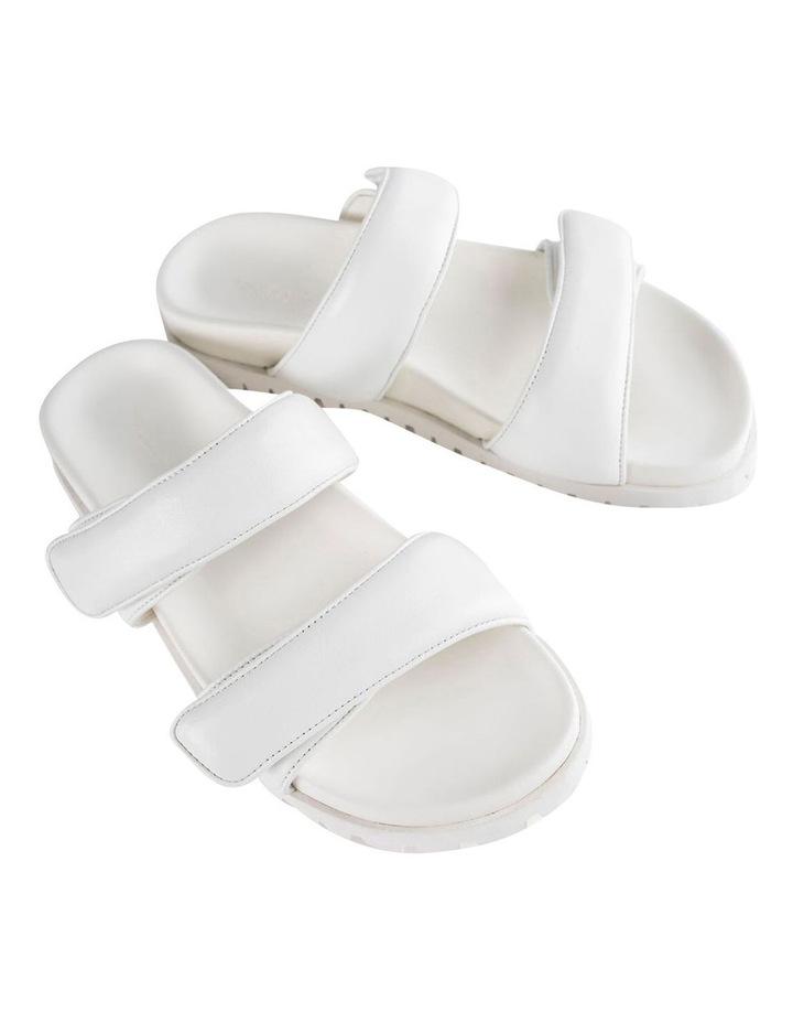 Bonny White Nappa Sandal image 2