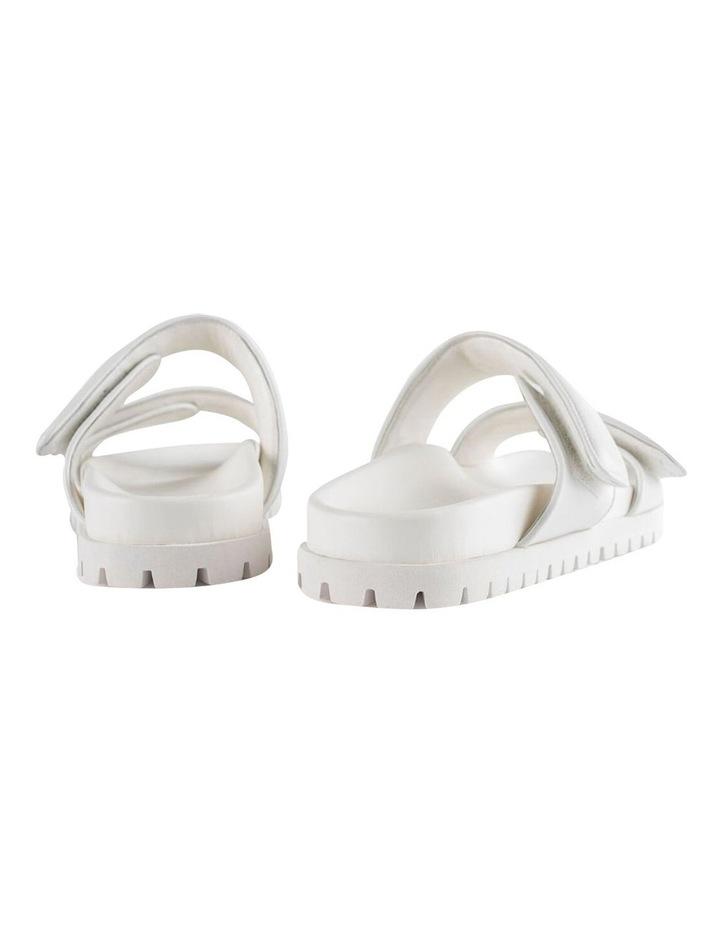 Bonny White Nappa Sandal image 3