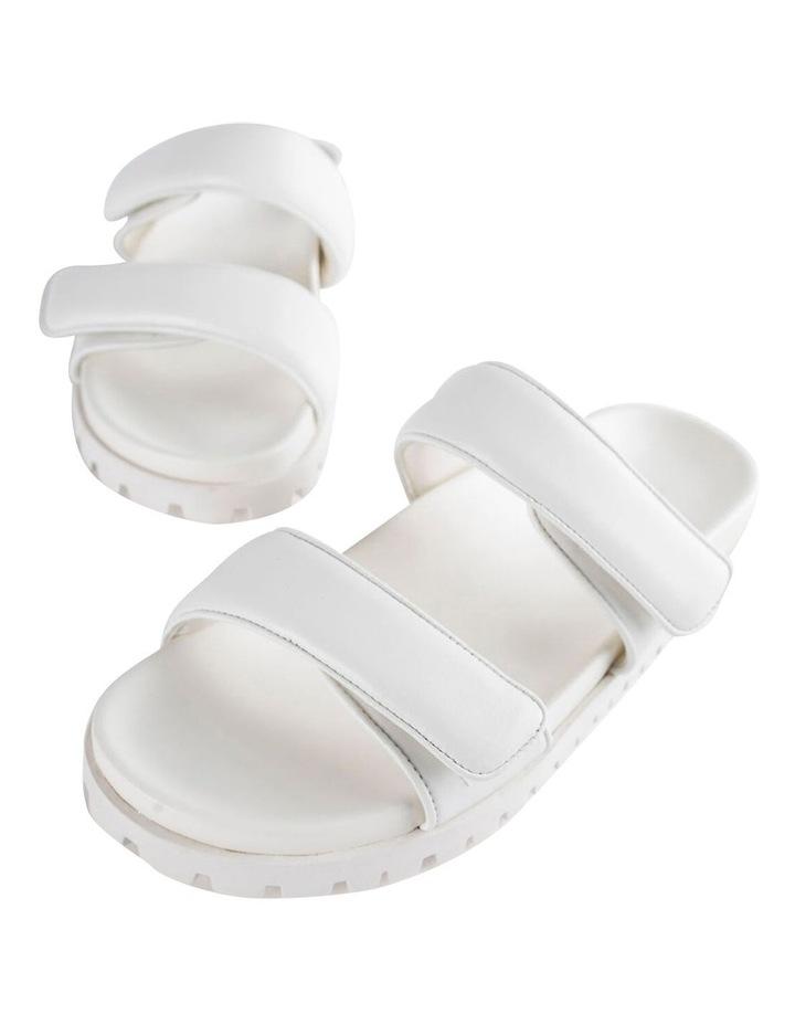 Bonny White Nappa Sandal image 4