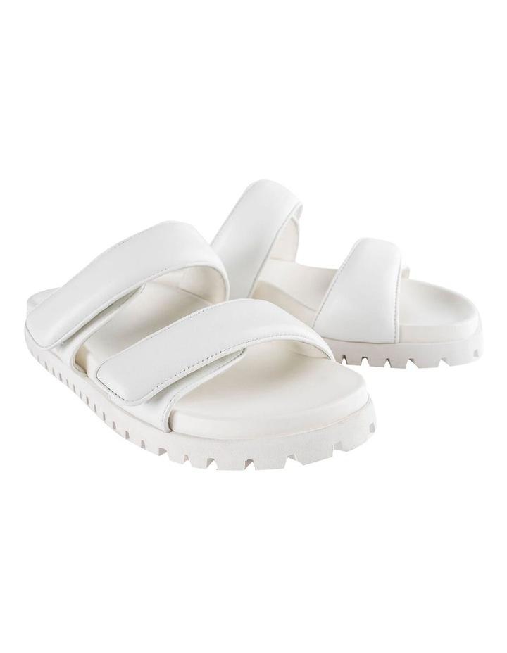 Bonny White Nappa Sandal image 5