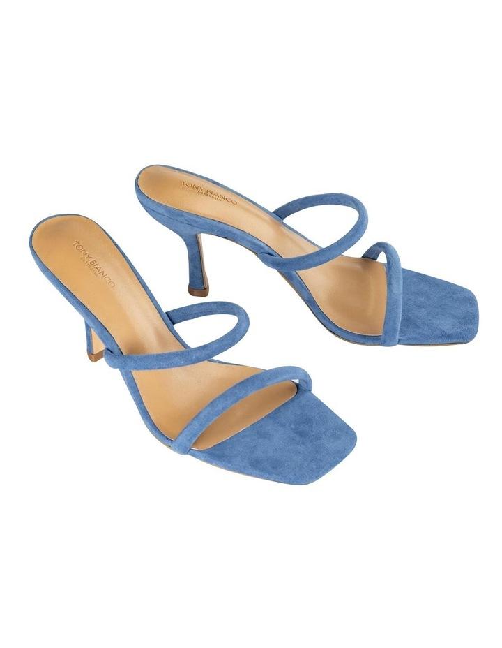 Bria Blue Kid Suede Sandal image 2