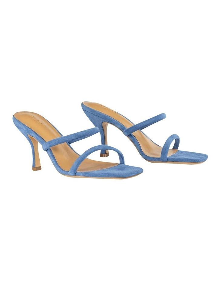 Bria Blue Kid Suede Sandal image 3
