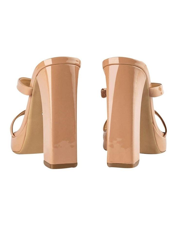 Dynasty Nude Patent Heels image 3