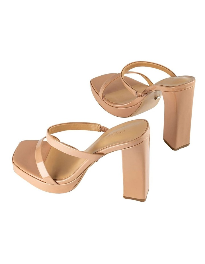 Dynasty Nude Patent Heels image 4