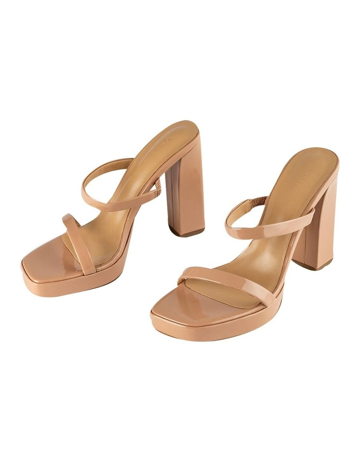 Dynasty Nude Patent Heels image 5