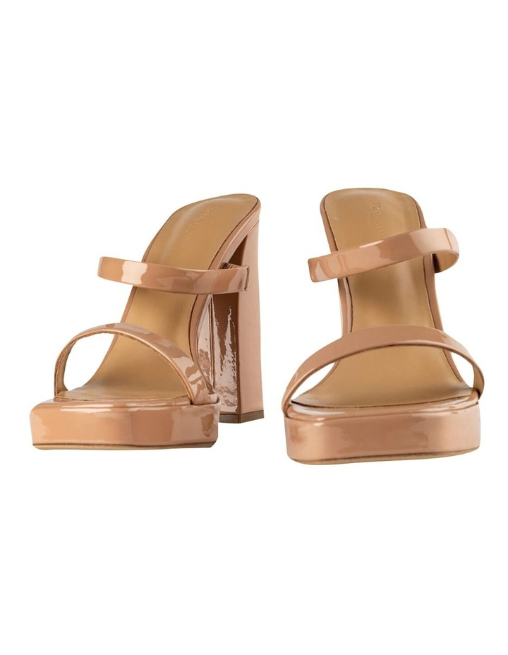 Dynasty Nude Patent Heels image 6