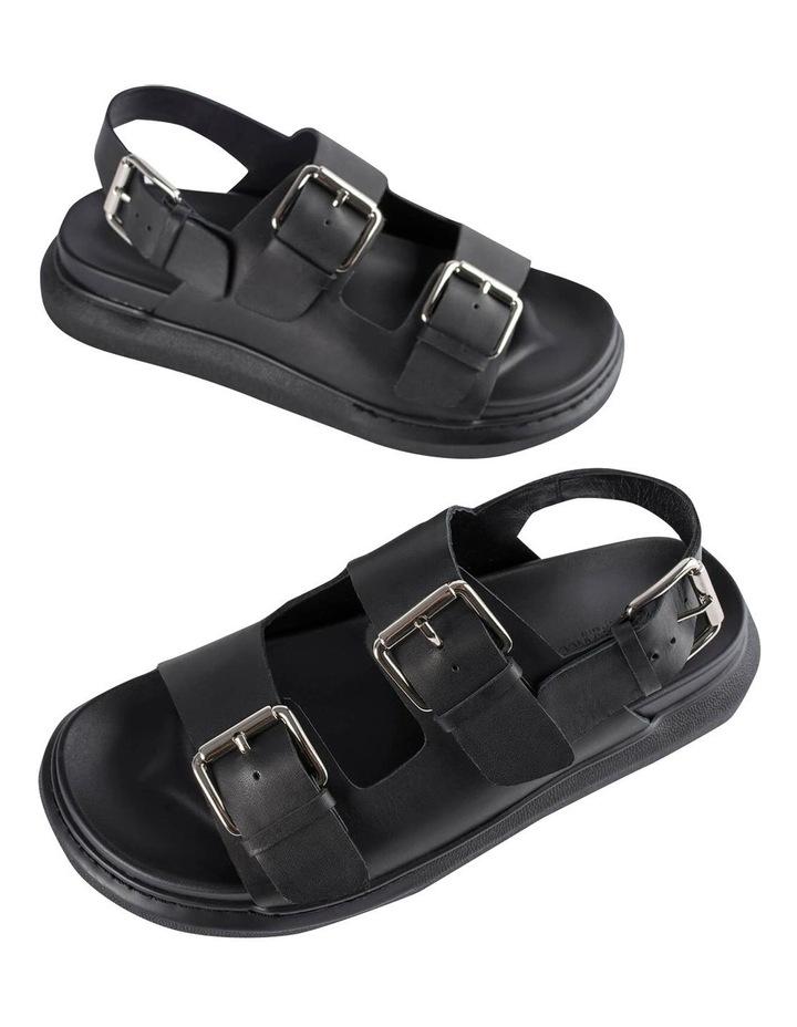 Maxie Black Como Sandals image 4