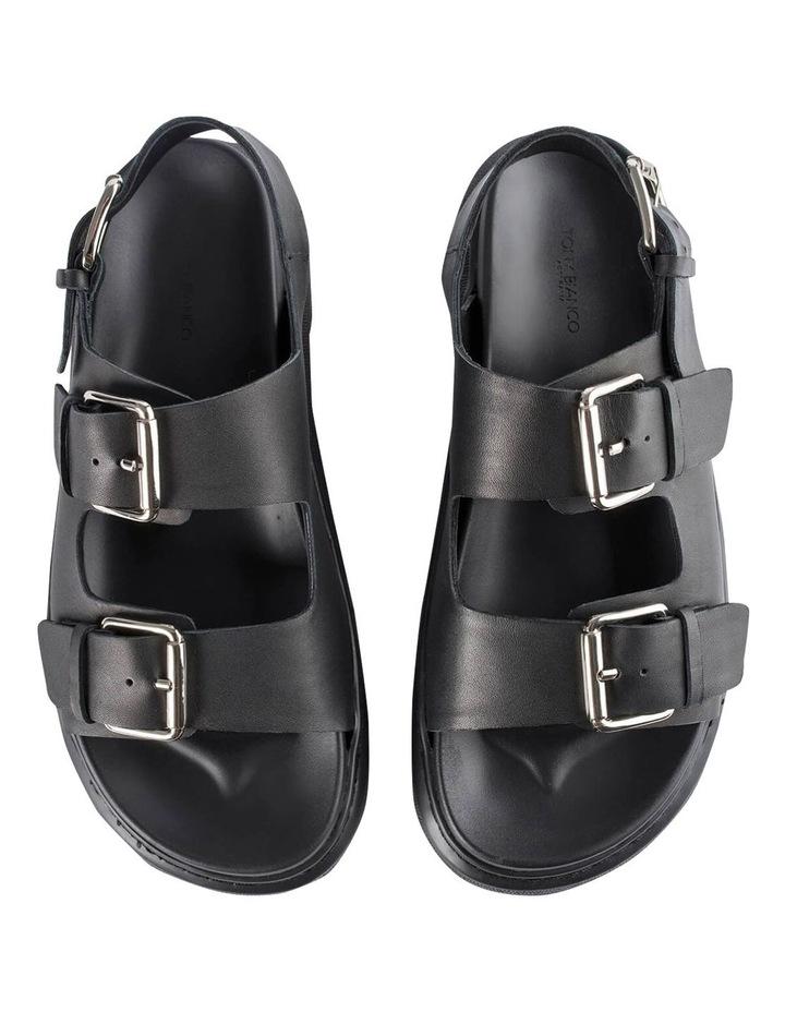 Maxie Black Como Sandals image 6