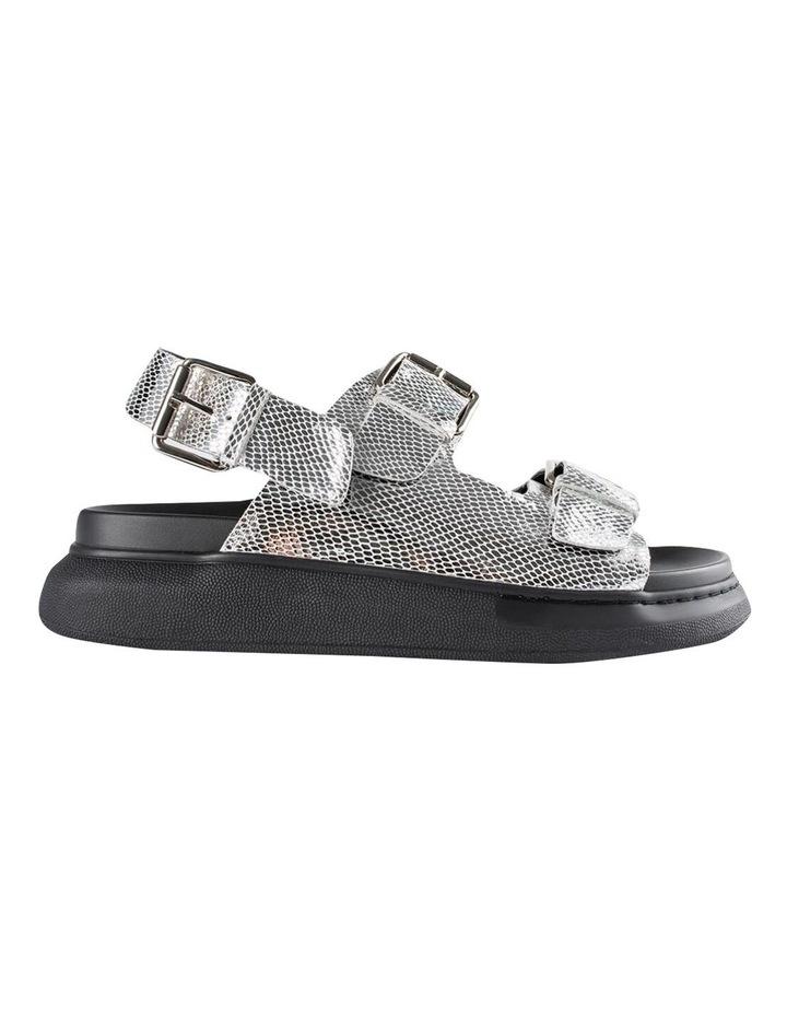 Maxie Silver Lizard Sandals image 1