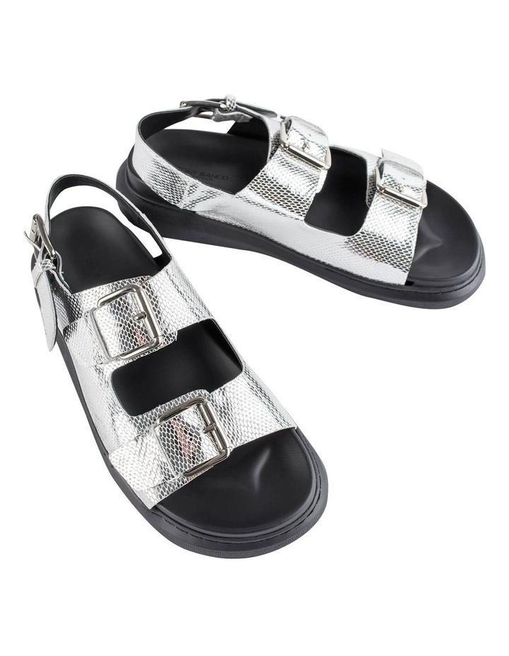 Maxie Silver Lizard Sandals image 2