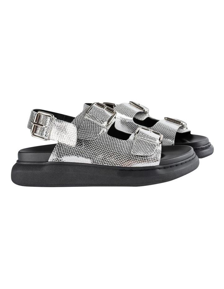 Maxie Silver Lizard Sandals image 3