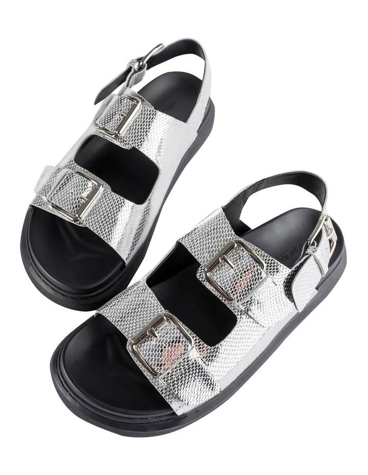 Maxie Silver Lizard Sandals image 5