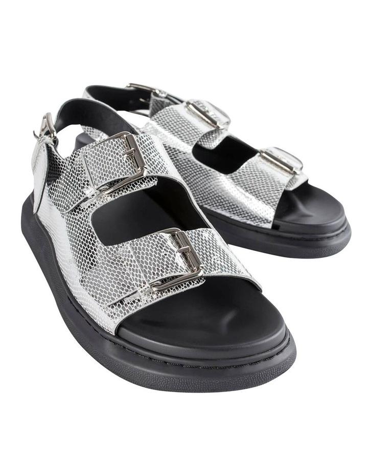 Maxie Silver Lizard Sandals image 6