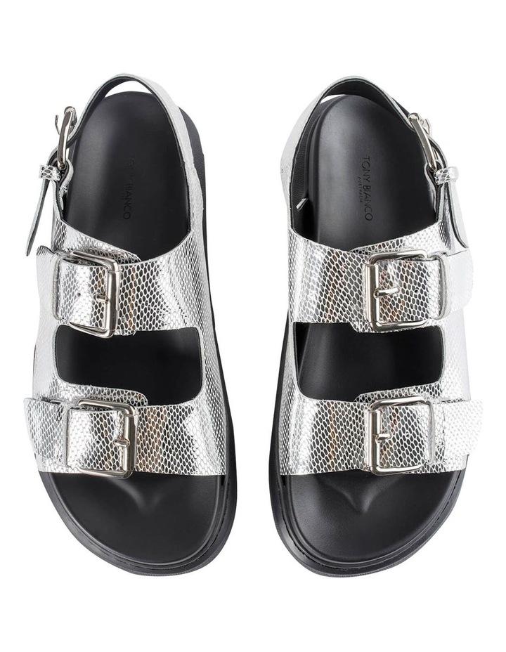 Maxie Silver Lizard Sandals image 7