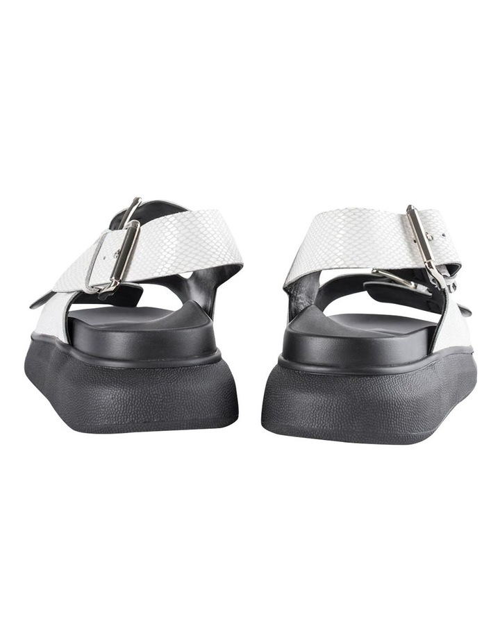 Maxie White Lizard Sandals image 3