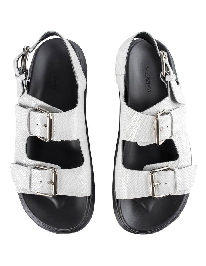 Maxie White Lizard Sandals image 6