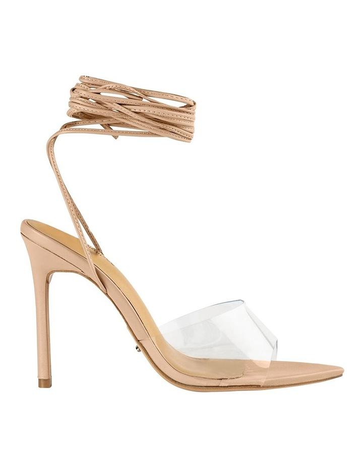 Mistique Clear Vinylite/Skin Capretto Heels image 1
