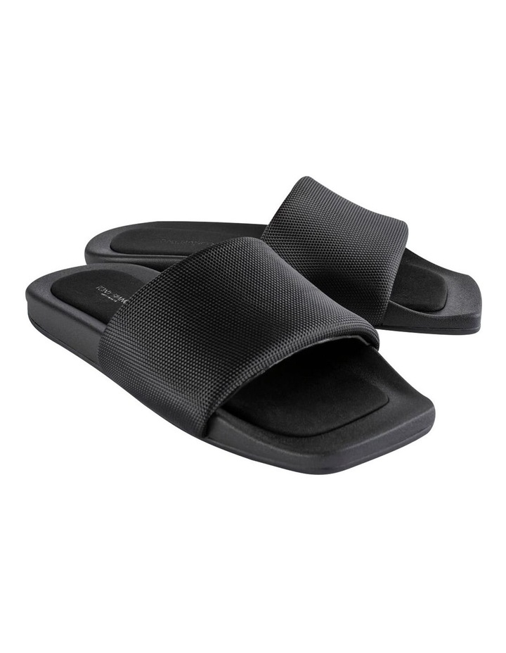York Black Mesh Sandals image 5