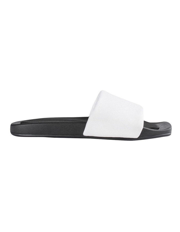 York White Mesh Sandals image 1