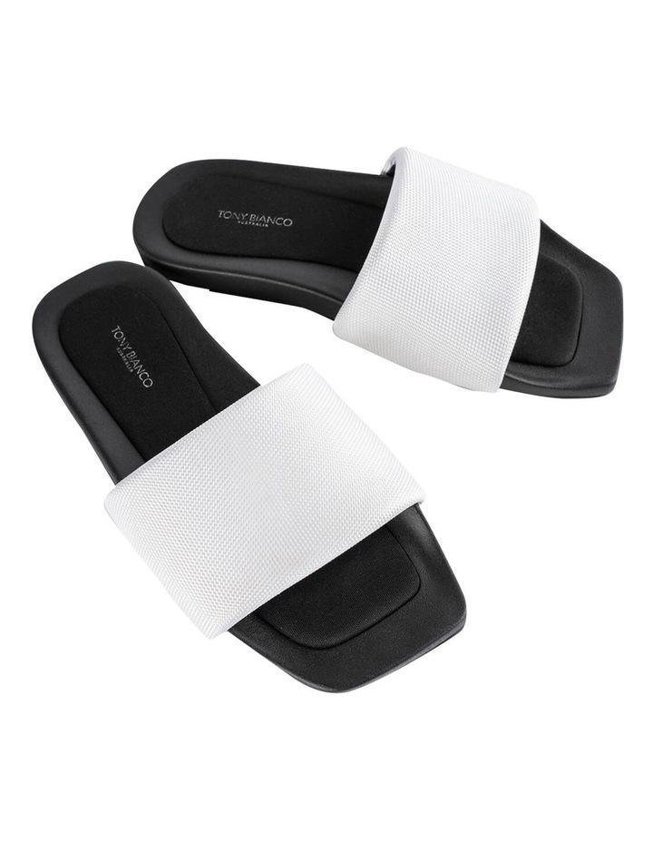 York White Mesh Sandals image 2