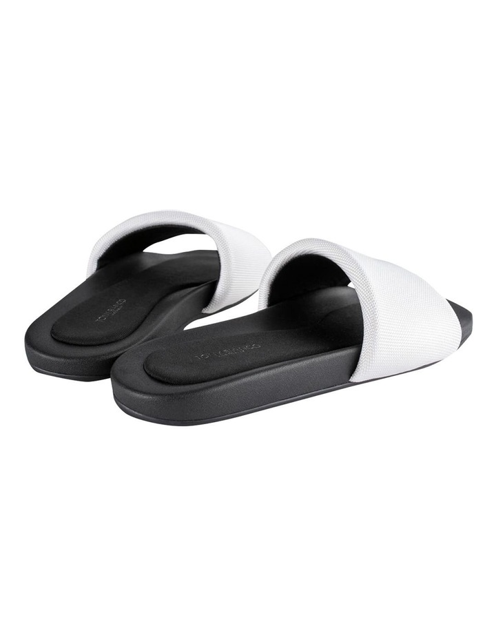 York White Mesh Sandals image 3