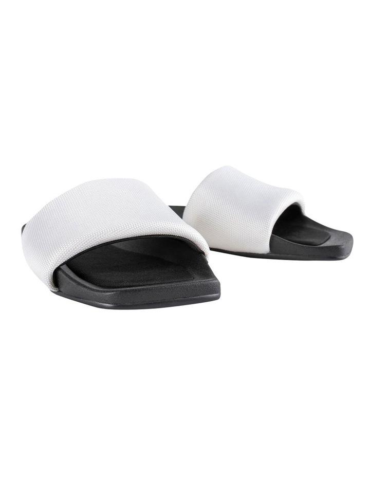 York White Mesh Sandals image 5