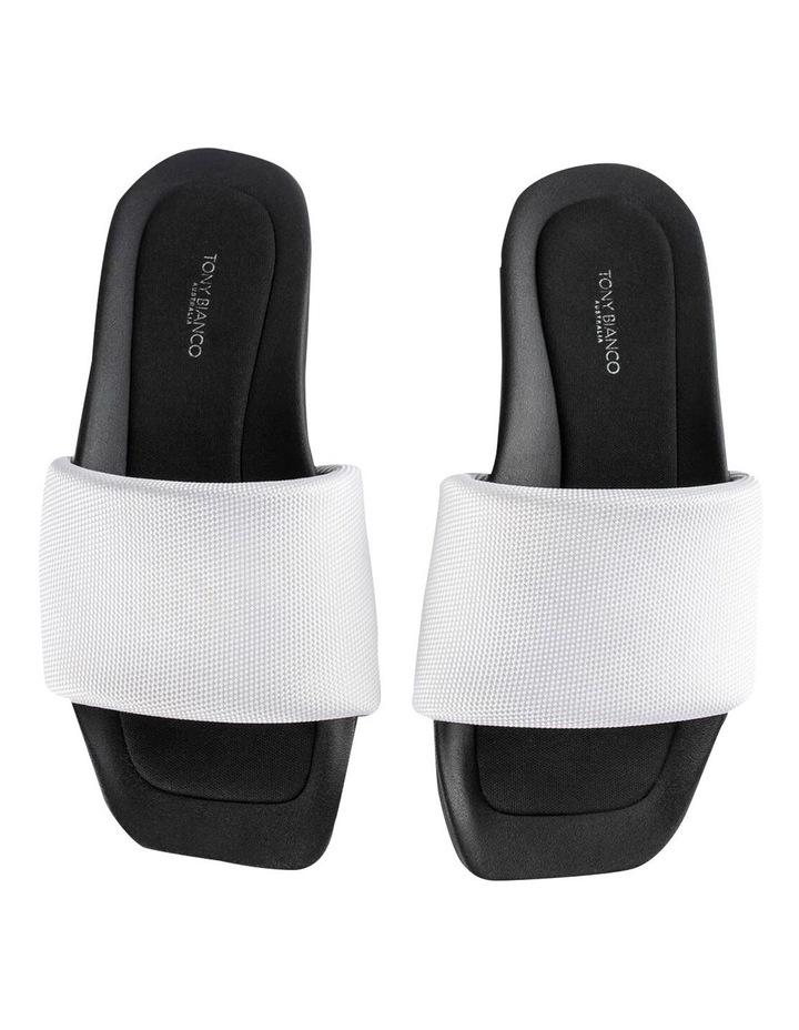 York White Mesh Sandals image 6