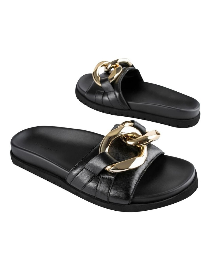 Briana Black Nappa Heels image 5