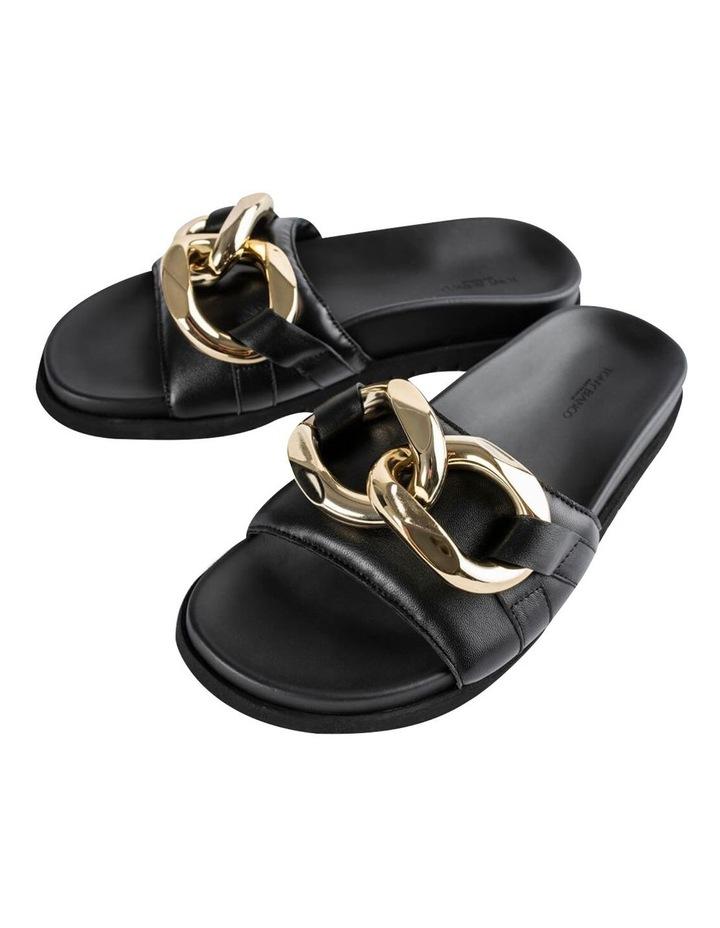 Briana Black Nappa Heels image 6