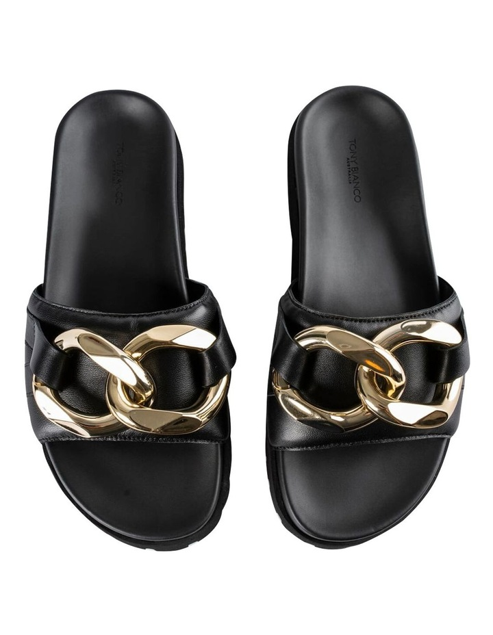 Briana Black Nappa Heels image 7