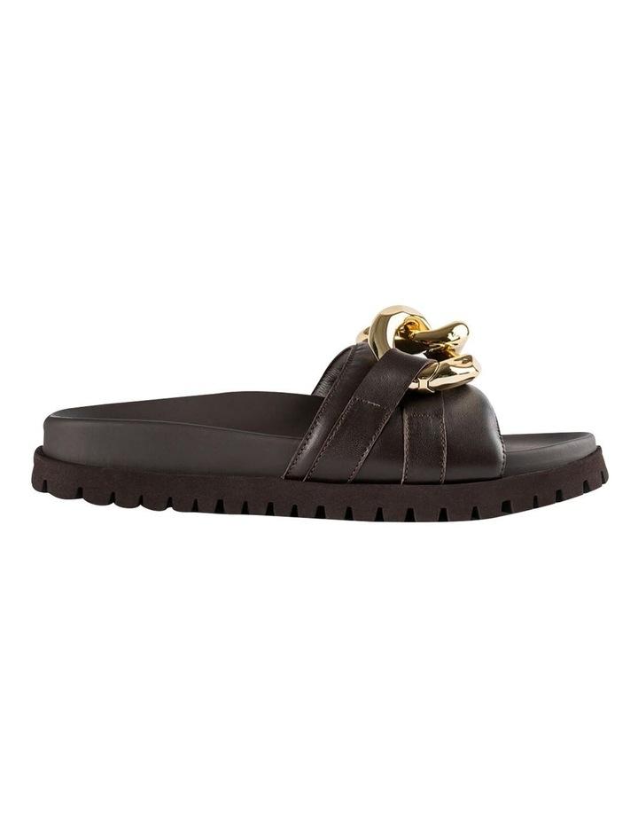 Briana Chocolate Nappa Heels image 1