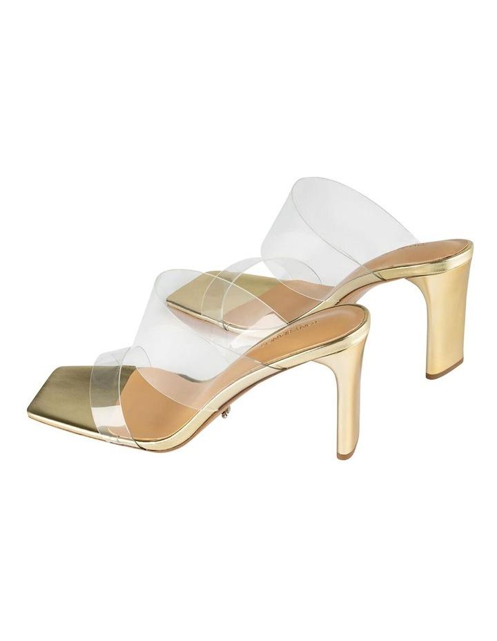Chicago Clear Vinylite/Gold Heels Heels image 4