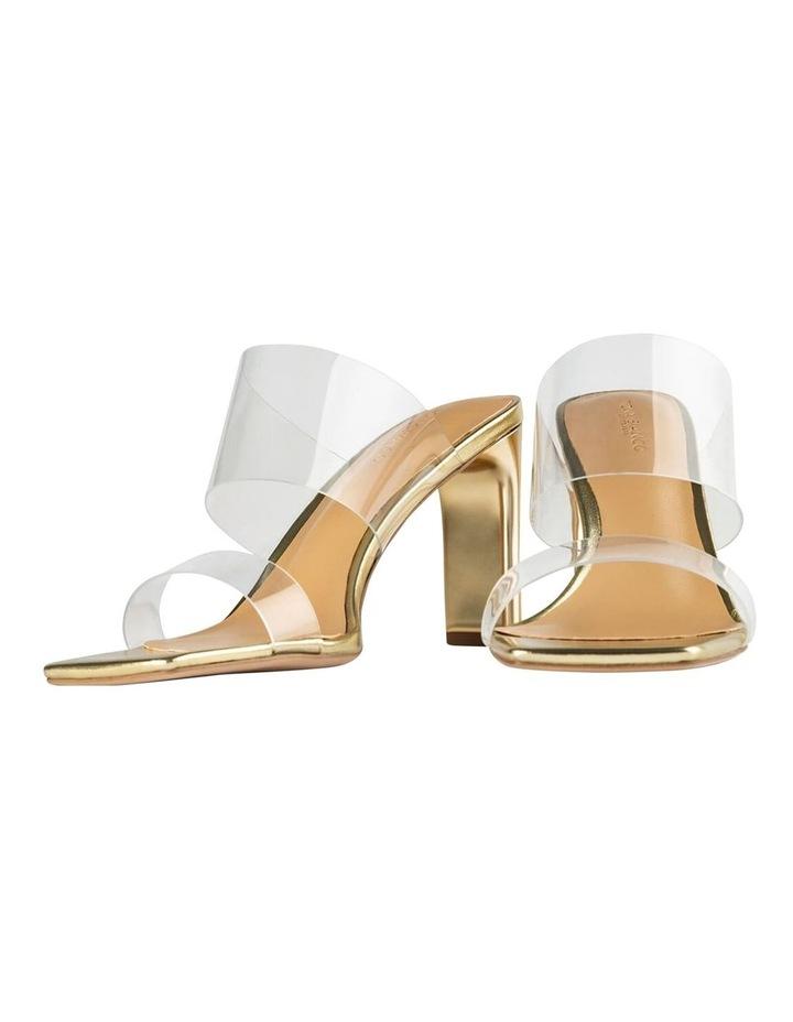 Chicago Clear Vinylite/Gold Heels Heels image 5