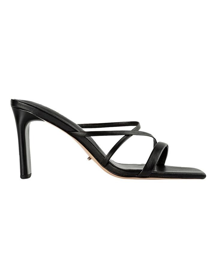 Classic Black Nappa Heels image 1