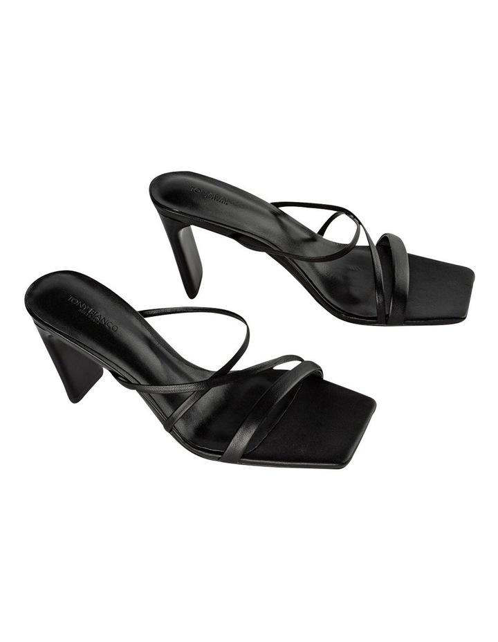 Classic Black Nappa Heels image 2