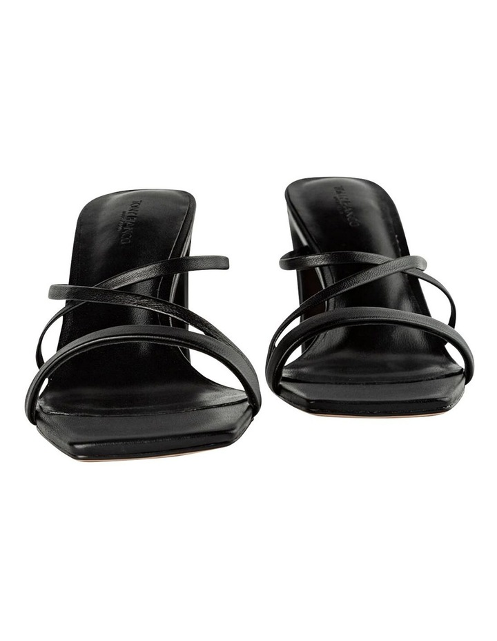 Classic Black Nappa Heels image 6