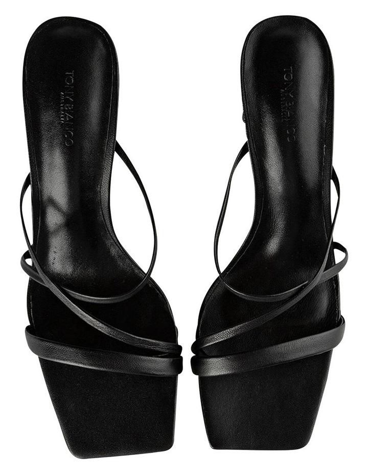 Classic Black Nappa Heels image 7