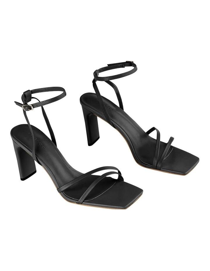 Corso Black Nappa Heels image 1