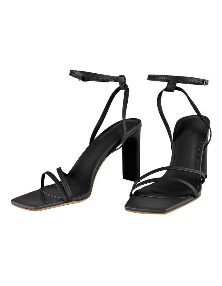 Corso Black Nappa Heels image 3