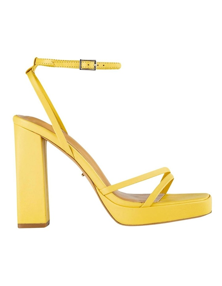 Detroit Yellow Nappa Heels image 1