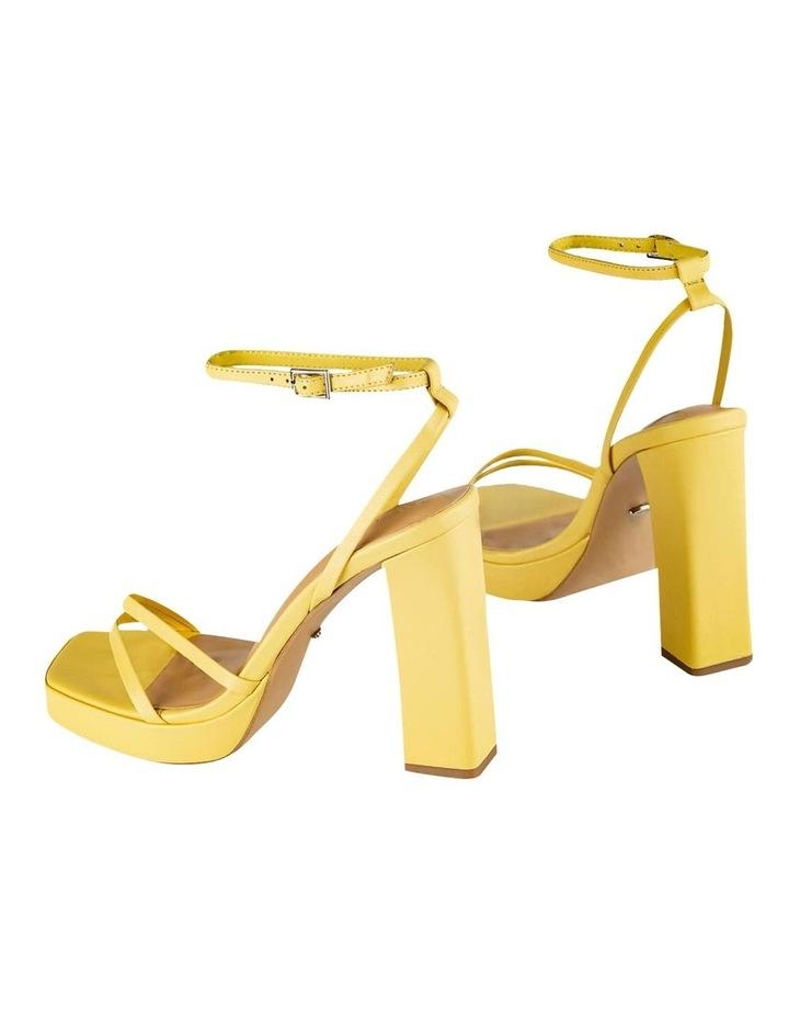 Detroit Yellow Nappa Heels image 4
