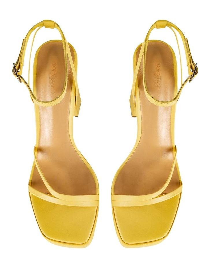 Detroit Yellow Nappa Heels image 7