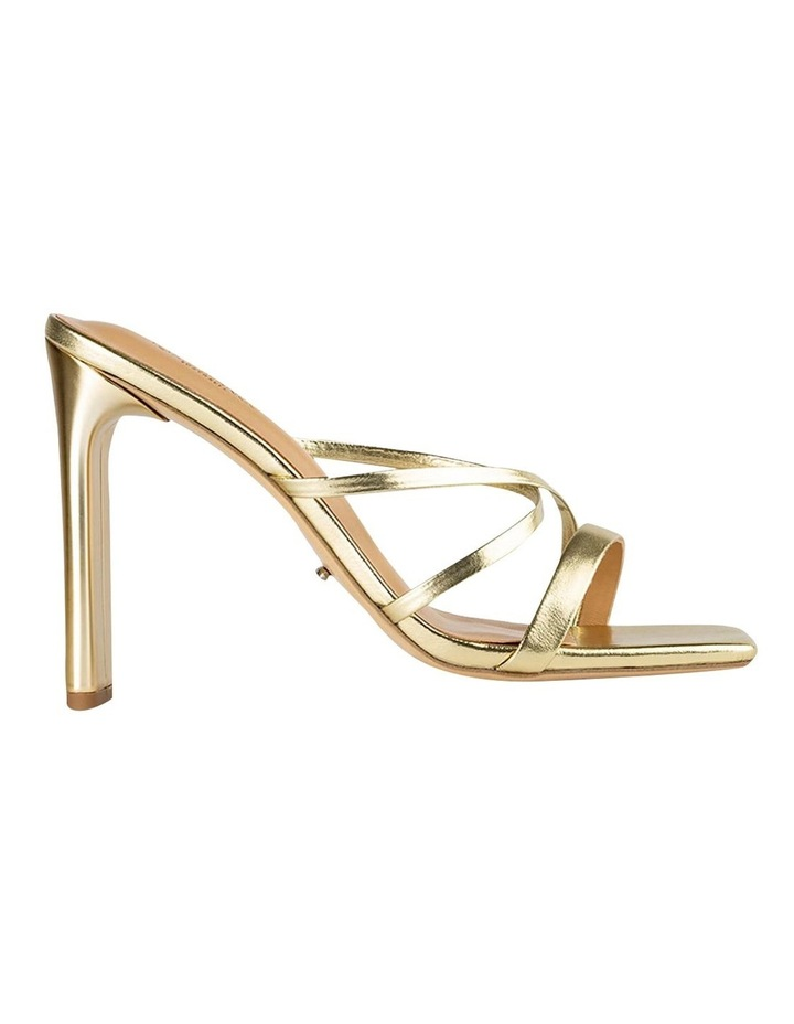 Fior Gold Nappa Metallic Heels image 1