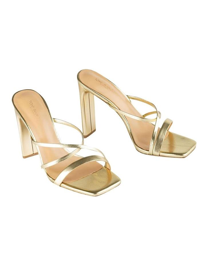 Fior Gold Nappa Metallic Heels image 2