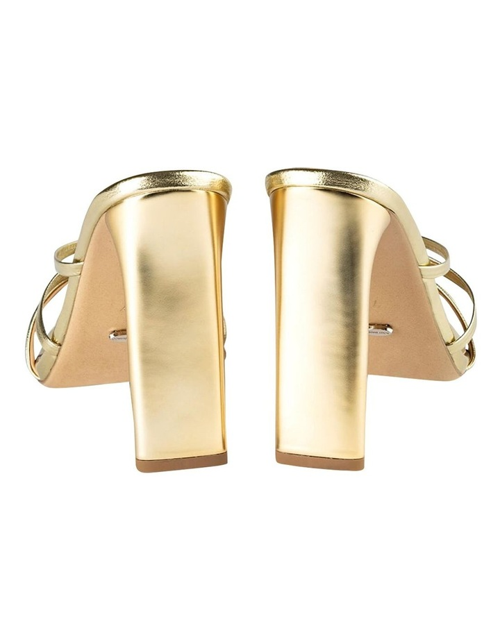 Fior Gold Nappa Metallic Heels image 3