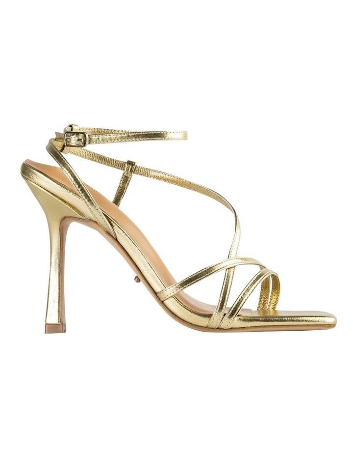 Franci Gold Nappa Metallic Heels image 1